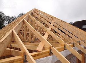 Расчёт пиломатериалов, требуемых на сооружение крыши
