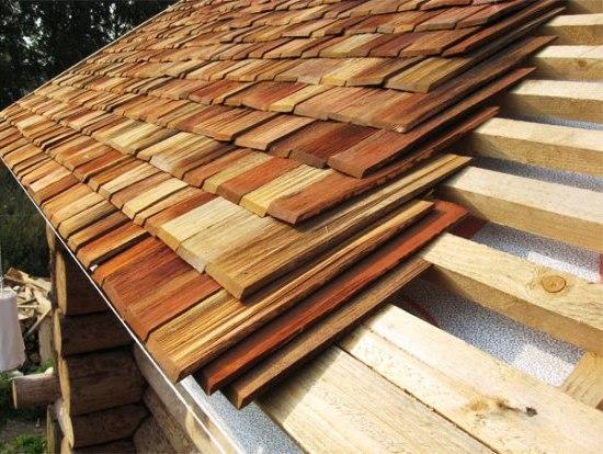 деревянные дощечки (гонты)